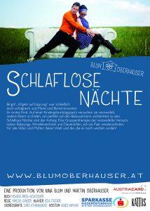 SCHLAFLOSE NÄCHTE Flyer © Julia Wesely