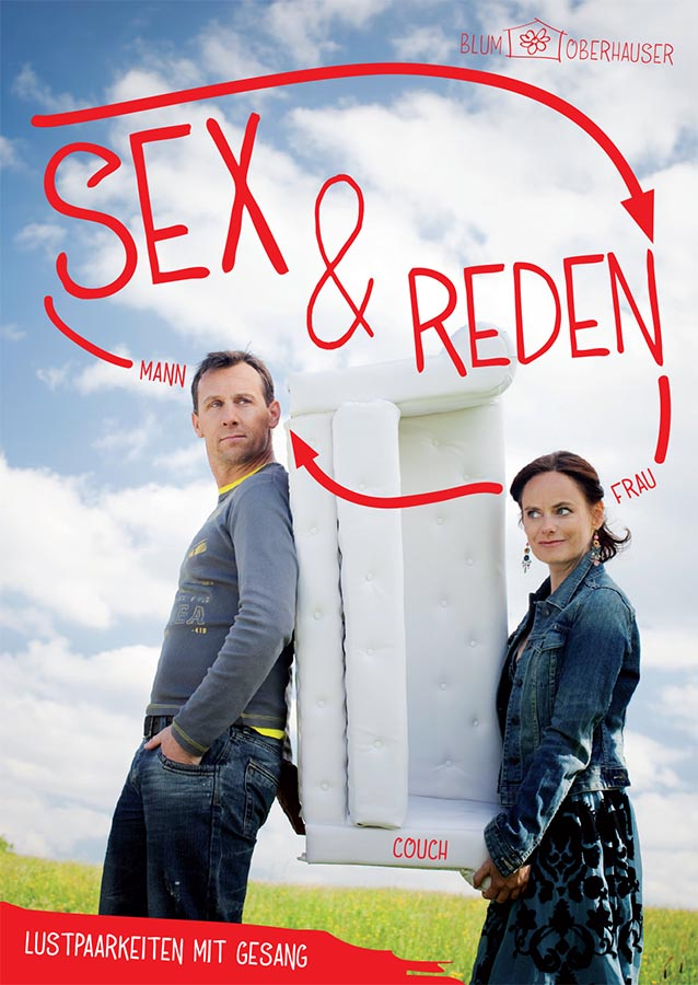 SEX & REDEN Plakat @ Julia Wesely