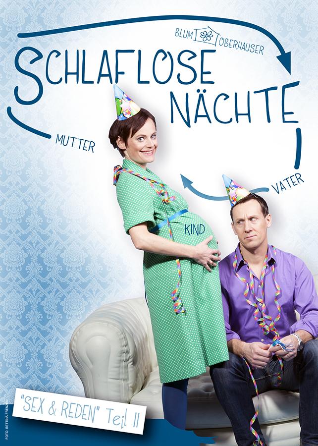 SCHLAFLOSE NÄCHTE Flyer © Bettina Frenzel